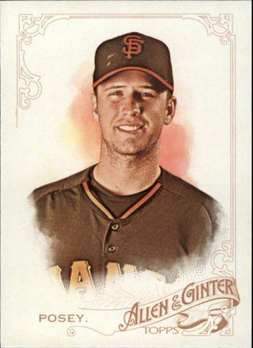Photo of 2015 Topps Allen and Ginter #173 Buster Posey