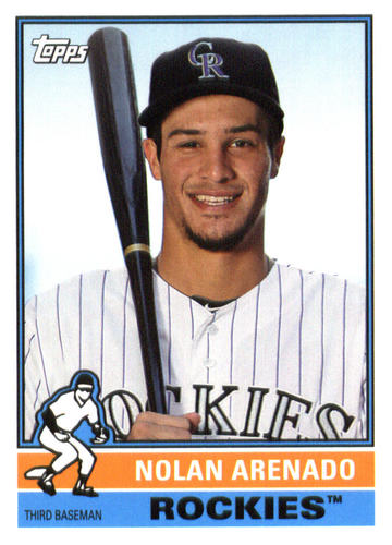 Photo of 2015 Topps Archives #162 Nolan Arenado