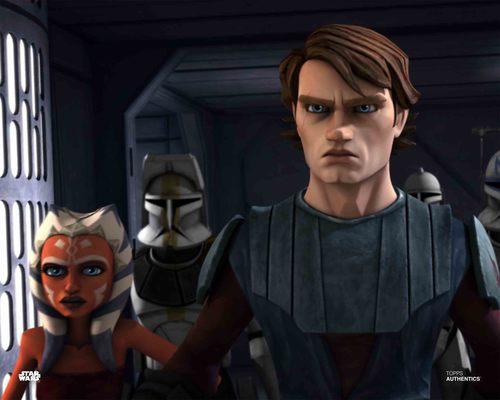 Anakin Skywalker and Ahsoka Tano