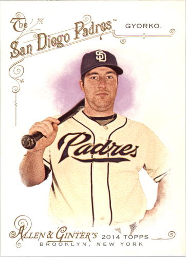 Photo of 2014 Topps Allen and Ginter #12 Jedd Gyorko
