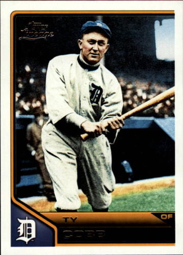 Photo of 2011 Topps Lineage #105 Ty Cobb