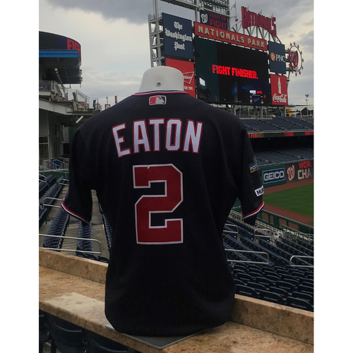 Photo of 2019 NLDS/NLCS Game-Used Jersey: Adam Eaton