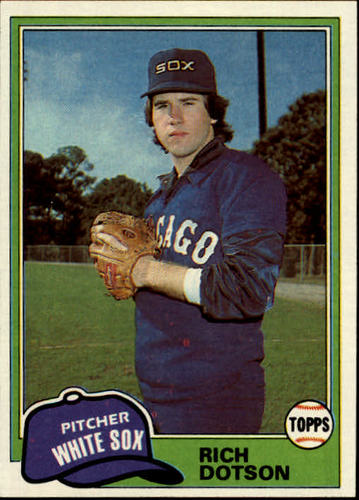 Photo of 1981 Topps #138 Rich Dotson DP RC