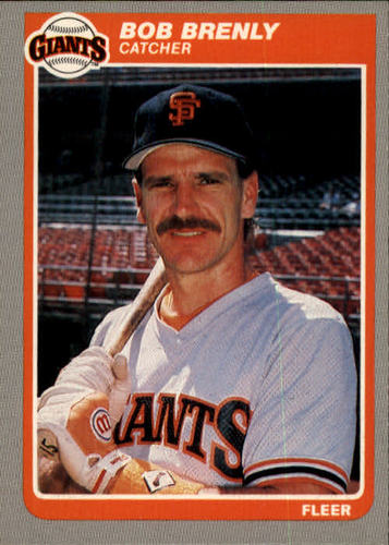 Photo of 1985 Fleer #603 Bob Brenly