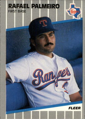 Photo of 1989 Fleer Update #66 Rafael Palmeiro