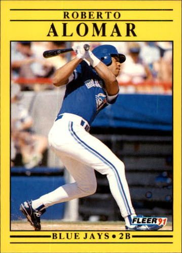 Photo of 1991 Fleer Update #63 Roberto Alomar