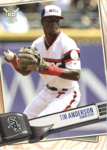 Photo of 2019 Topps Big League #255 Tim Anderson
