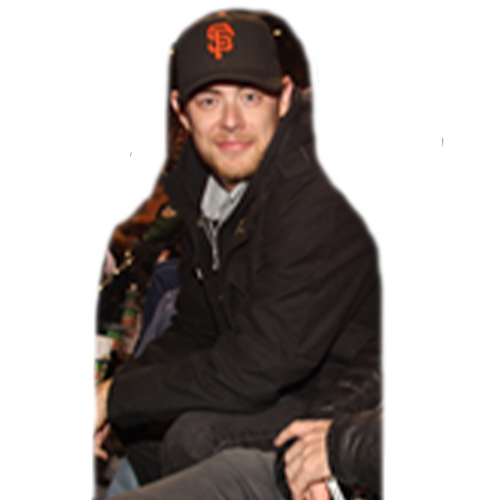 Photo of Giants Community Fund: Giants Colin Hanks Cutout
