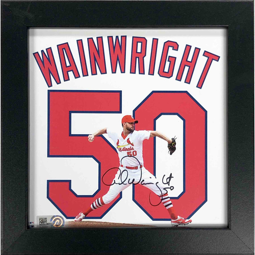 Photo of Cardinals Authentics: Adam Wainwright Autographed 6*6 Uniframe