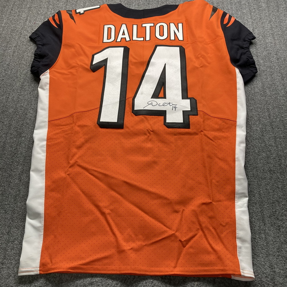 andy dalton signed jersey