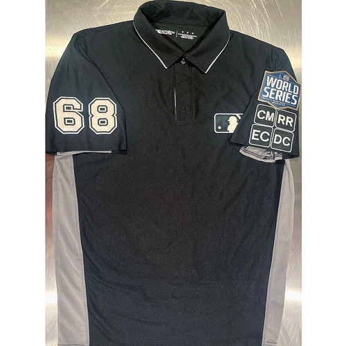 Photo of UMPS CARE AUCTION: Game-Worn 2020 World Series Base Jersey Signed by Chris Guccione, Size M