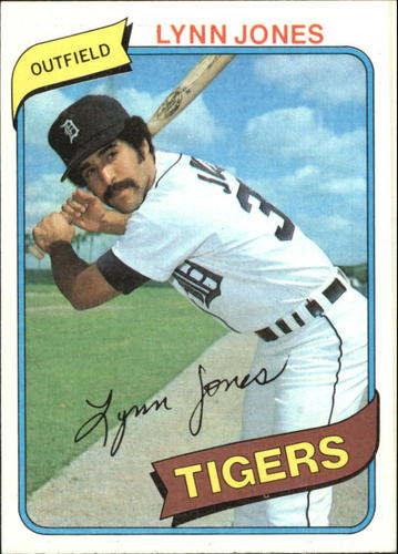 Photo of 1980 Topps #123 Lynn Jones RC