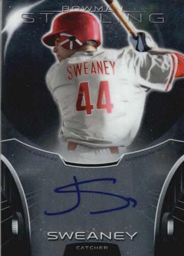 Photo of 2013 Bowman Sterling Prospect Autographs #JSW Jake Sweaney