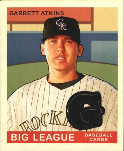 Photo of 2007 Upper Deck Goudey Memorabilia #41 Garrett Atkins