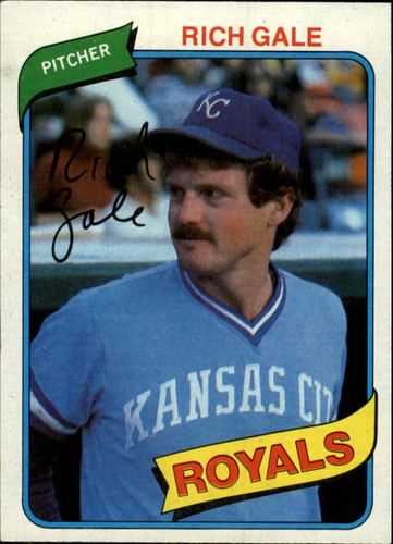 Photo of 1980 Topps #433 Rich Gale