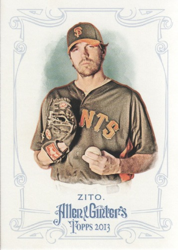 Photo of 2013 Topps Allen and Ginter #99 Barry Zito
