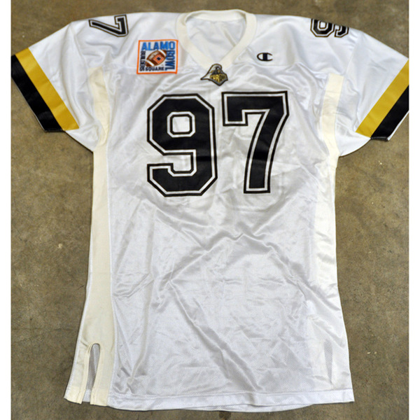 Photo of Authentic 1997 Alamo Bowl Jersey // No. 97