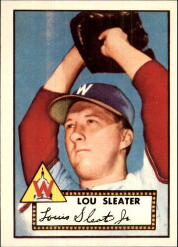 Photo of 1983 Topps 1952 Reprint #306 Lou Sleater