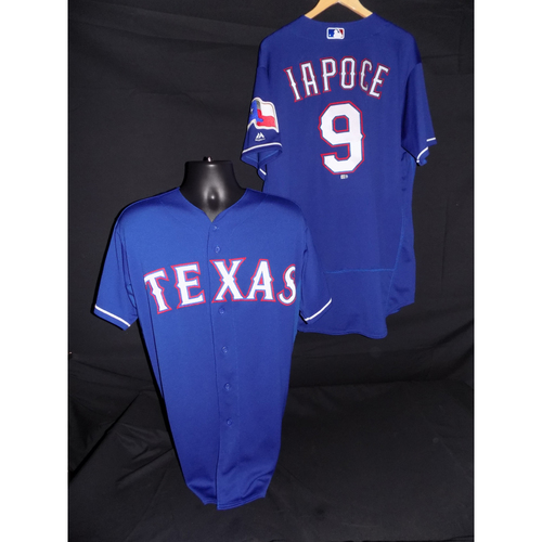 Photo of Anthony Iapoce Game-Used Blue Jersey - Size 48