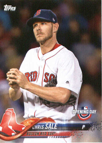 Photo of 2018 Topps Opening Day #20 Chris Sale