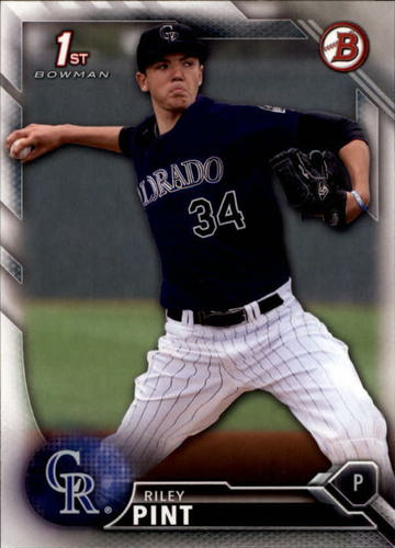 Photo of 2016 Bowman Draft #BD50 Riley Pint -- Ranked #100 of MLB's Top 100 Prospects