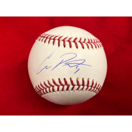 Photo of Cliff Pennington -- Autographed Baseball