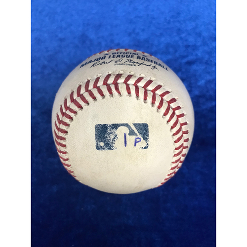 Photo of Albert Pujols Foul Ball (Marked for 3000th Hit) - May 3rd 2018
