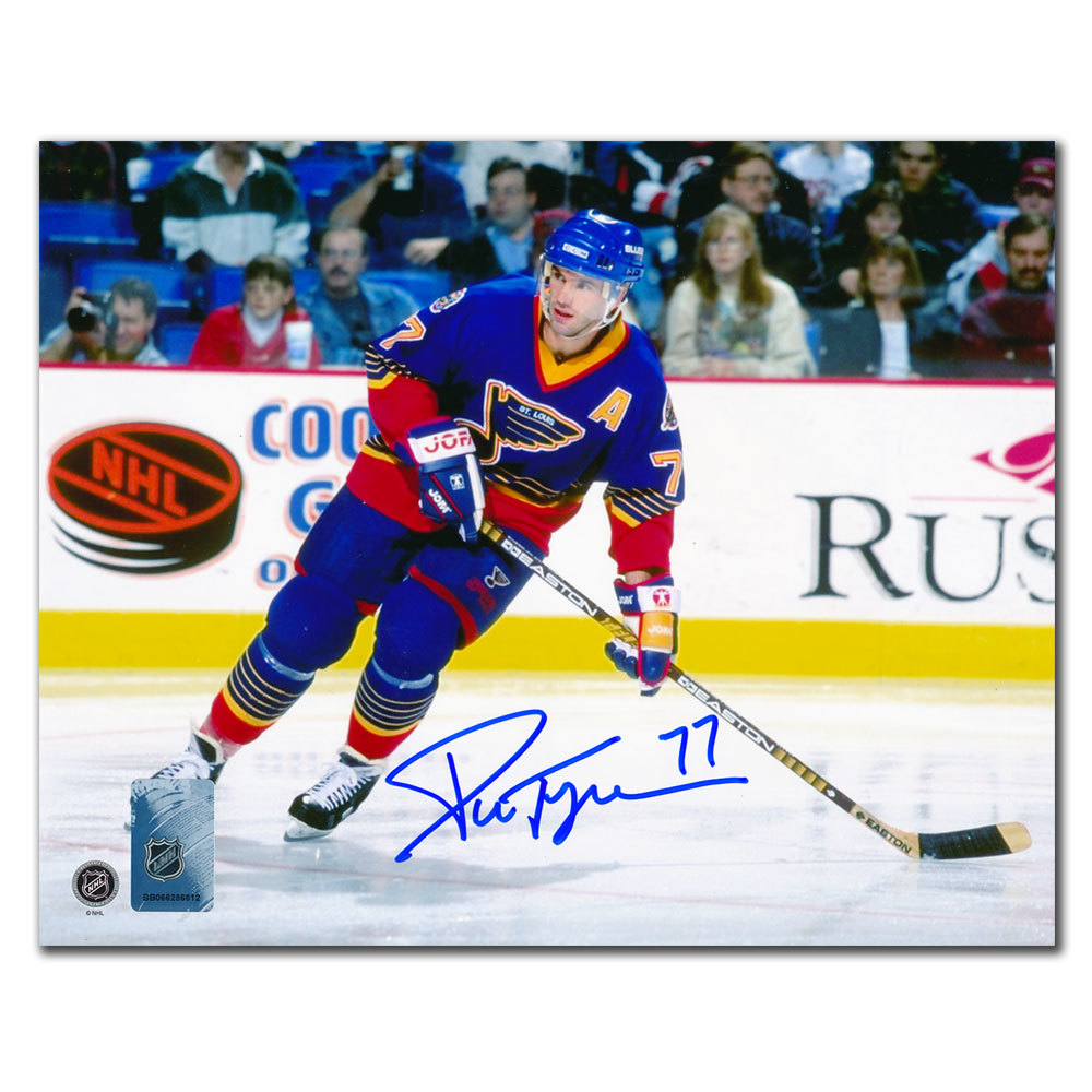 Pierre Turgeon St. Louis Blues Autographed 8x10