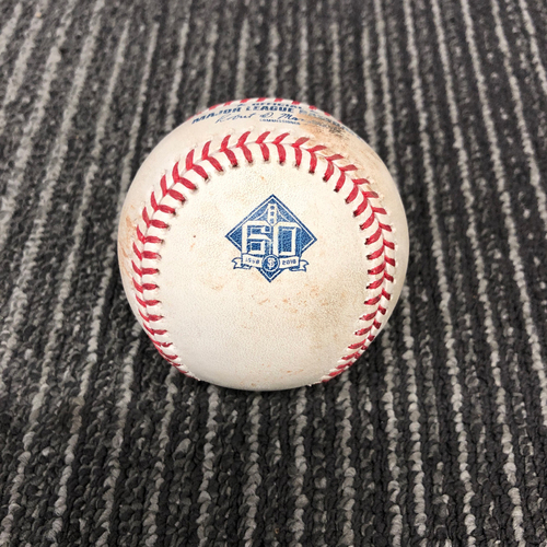 Photo of 2018 Game Used Baseball vs. Los Angeles Dodgers on 9/28 - T-6: Madison Bumgarner to Chris Taylor - Foul Ball