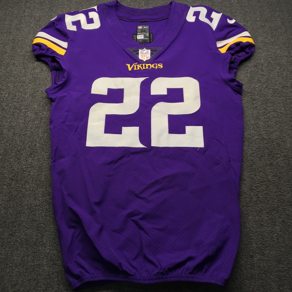 NFL Auction | STS - Vikings Harrison Smith Game Used Jersey Size ...