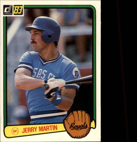 Photo of 1983 Donruss #138 Jerry Martin
