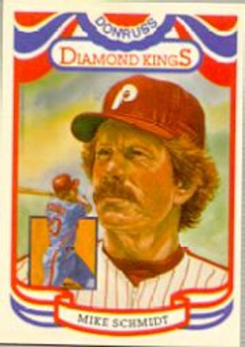 Photo of 1984 Donruss #23A Mike Schmidt DK ERR