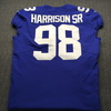 Crucial Catch - Giants Damon Harrison Game Used Jersey Washed By Equipment Manager (October 7th, 2018) Size 48