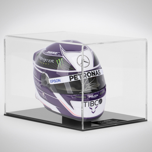 Photo of Lewis Hamilton 2020 Signed 1:2 Scale Helmet