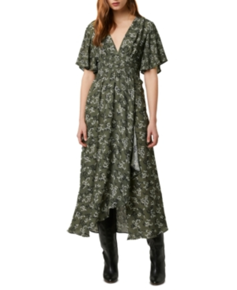 Photo of French Connection Ansa Faux-Wrap Maxi Dress