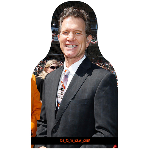 Photo of Giants Community Fund: Giants Chris Isaak Cutout