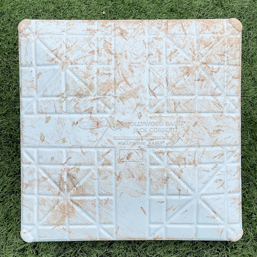 Photo of Game Used Jackie Robinson Day Base - 2nd Base, Innings 1-3 - Mets vs. Nationals - 4/23/21