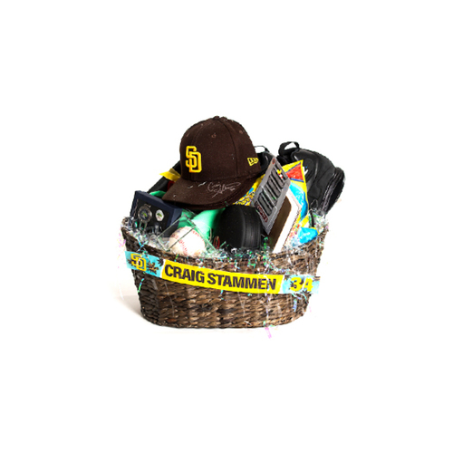 """Photo of Craig Stammen """"Favorite Things"""" Basket - Pick-Up Only at Petco Park"""