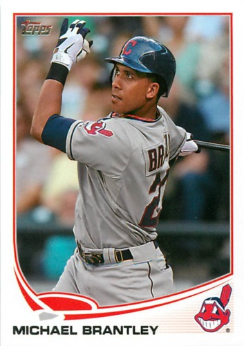 Photo of 2013 Topps #323 Michael Brantley