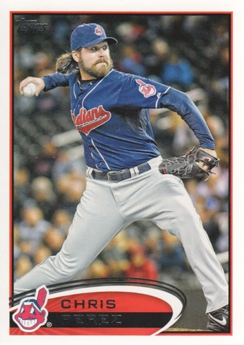 Photo of 2012 Topps #436 Chris Perez