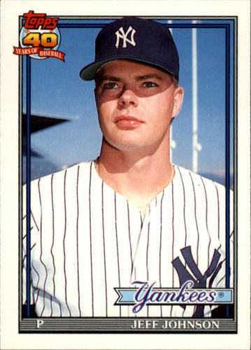 Photo of 1991 Topps Traded #62T Jeff Johnson RC