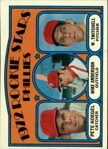 Photo of 1972 Topps #14 Rookie Stars/Pete Koegel/Mike Anderson RC/Wayne Twitchell