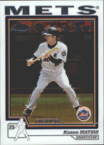 Photo of 2004 Topps Chrome Traded #T136 Kazuo Matsui FY RC