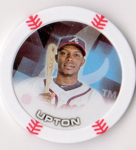 Photo of 2014 Topps Chipz #93 Justin Upton