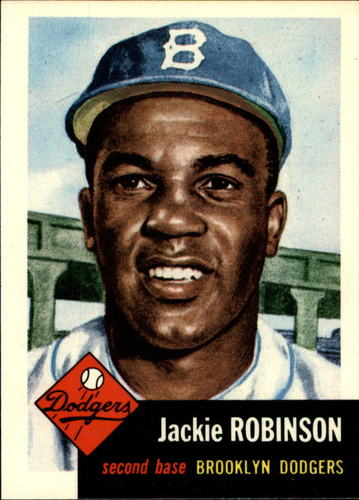 Photo of 1991 Topps Archives 1953 #1 Jackie Robinson