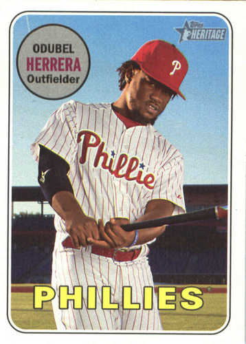 Photo of 2018 Topps Heritage #306 Odubel Herrera