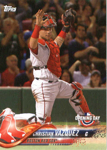 Photo of 2018 Topps Opening Day #21 Christian Vazquez