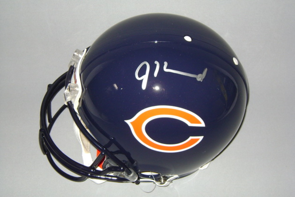 BEARS PRESEASON TICKET PACKAGE (2 Tickets Bills @ Bears 8/30  + JORDAN HOWARD SIGNED BEARS PROLINE HELMET)