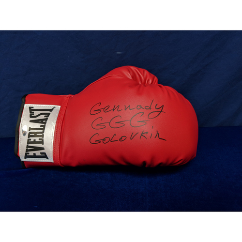 Photo of Kershaw's Challenge: Gennady Golovkin Autographed Boxing Glove - Not MLB Authenticated