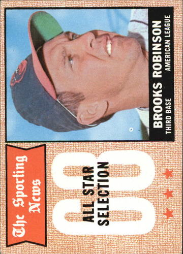 Photo of 1968 Topps #365 Brooks Robinson AS